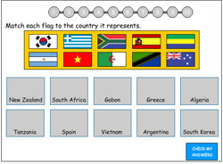 Flags Match 3