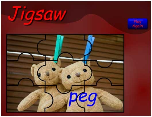 P is for Peg
