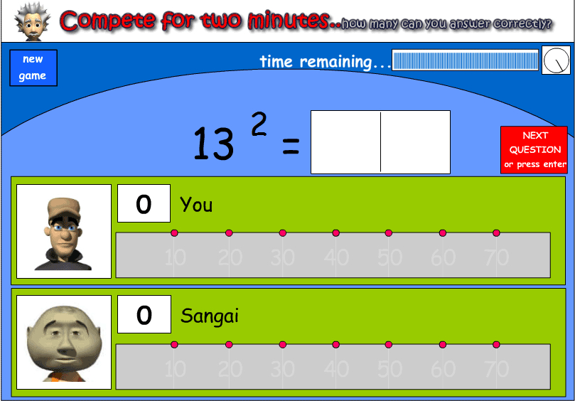 Squaring numbers
