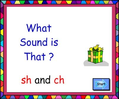 What Sound Is That? Digraphs sh and ch