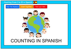 Counting to 10 in Spanish