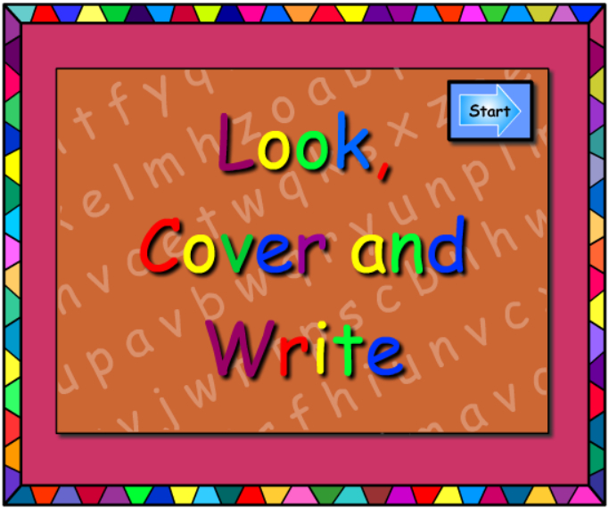How Well Can You Spell? -Look Cover Write