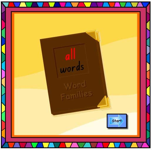 'all' Word Family Book