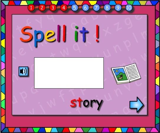 Spotty Stars -Let's Spell It