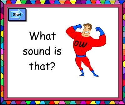 What Sound Is That? -ow and oe