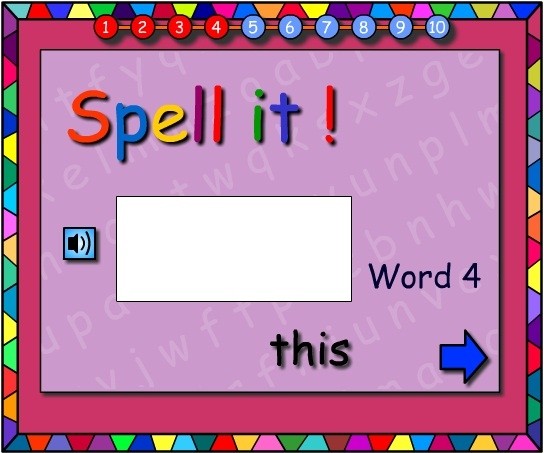 Words -Let's Spell It