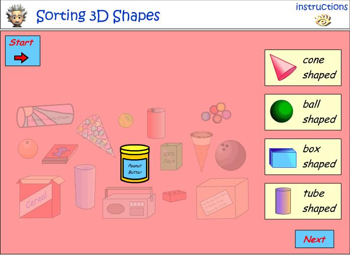 Informal classification of 3D Objects