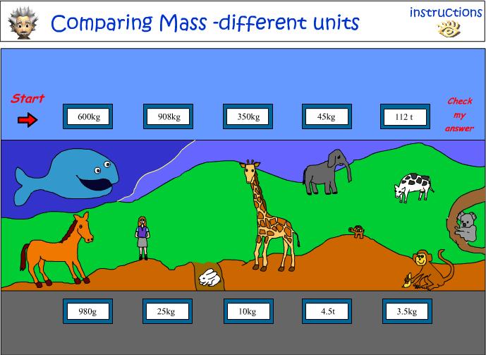 Comparing Mass