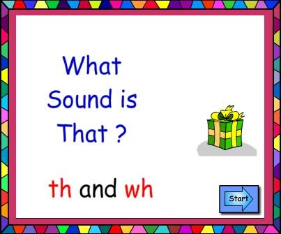 What Sound Is That? Digraphs th and wh