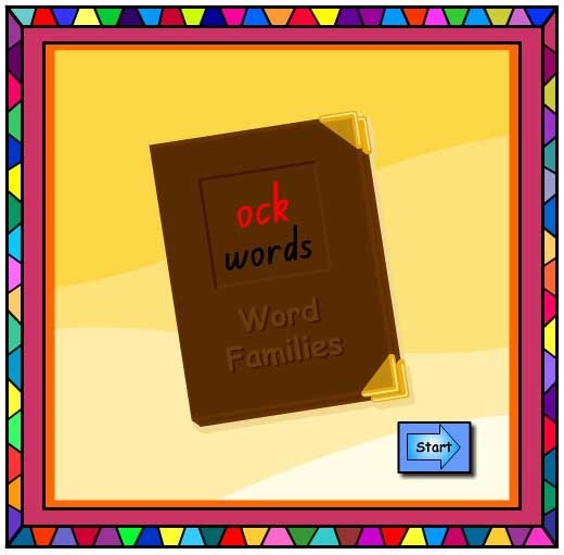 'ock' Word Family Book