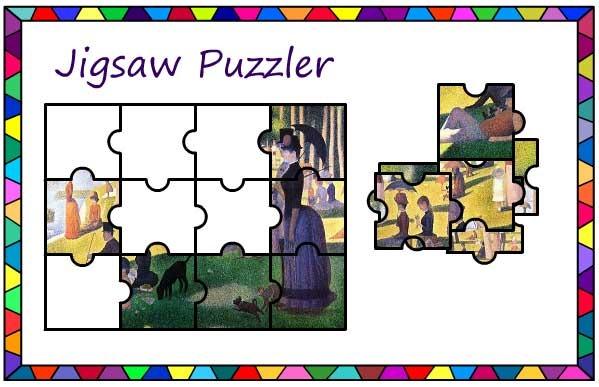 Seurat Sunday Afternoon Jigsaw
