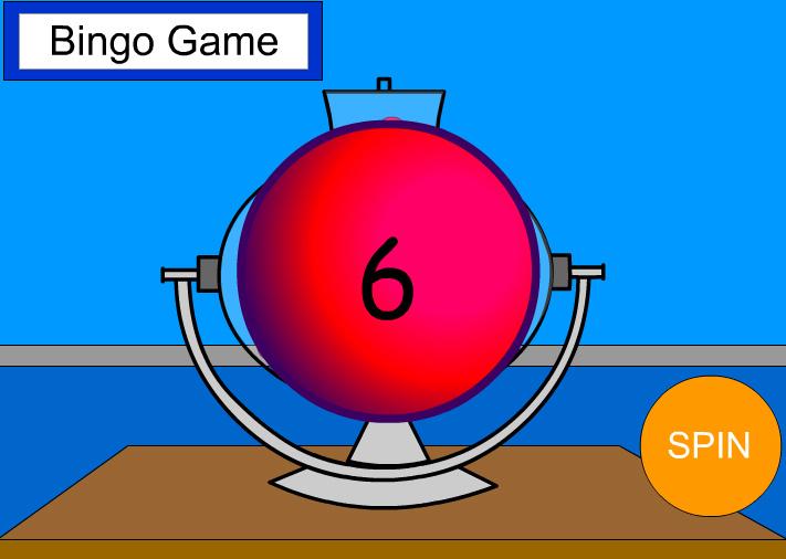 Bingo Machine - single digit addition