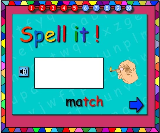Catching Shells -Let's Spell It