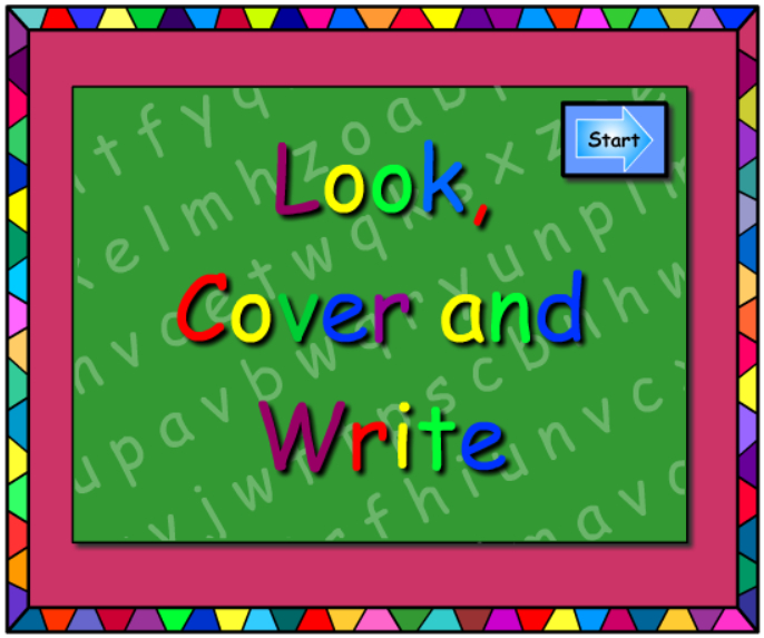 y - Look Cover Write