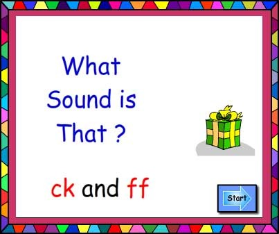What Sound Is That? ck and ff