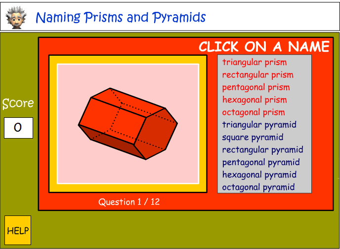 Naming prisms and pyramids