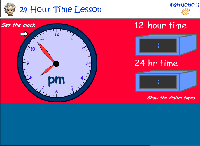 Twenty-four hour time
