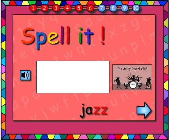 Miss Dizzy -Let's Spell It