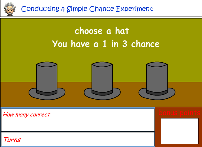 Conducting a chance experiment