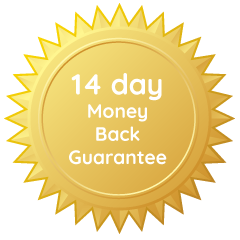 14-day money back guarantee